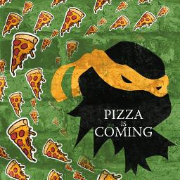 freetoedit tmnt teenagemutantninjaturtles pizza tmntmikey srcpepperonipizza