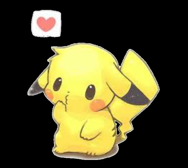 Tumblr Pikachu Cute Kawaii Sticker By Tumblr