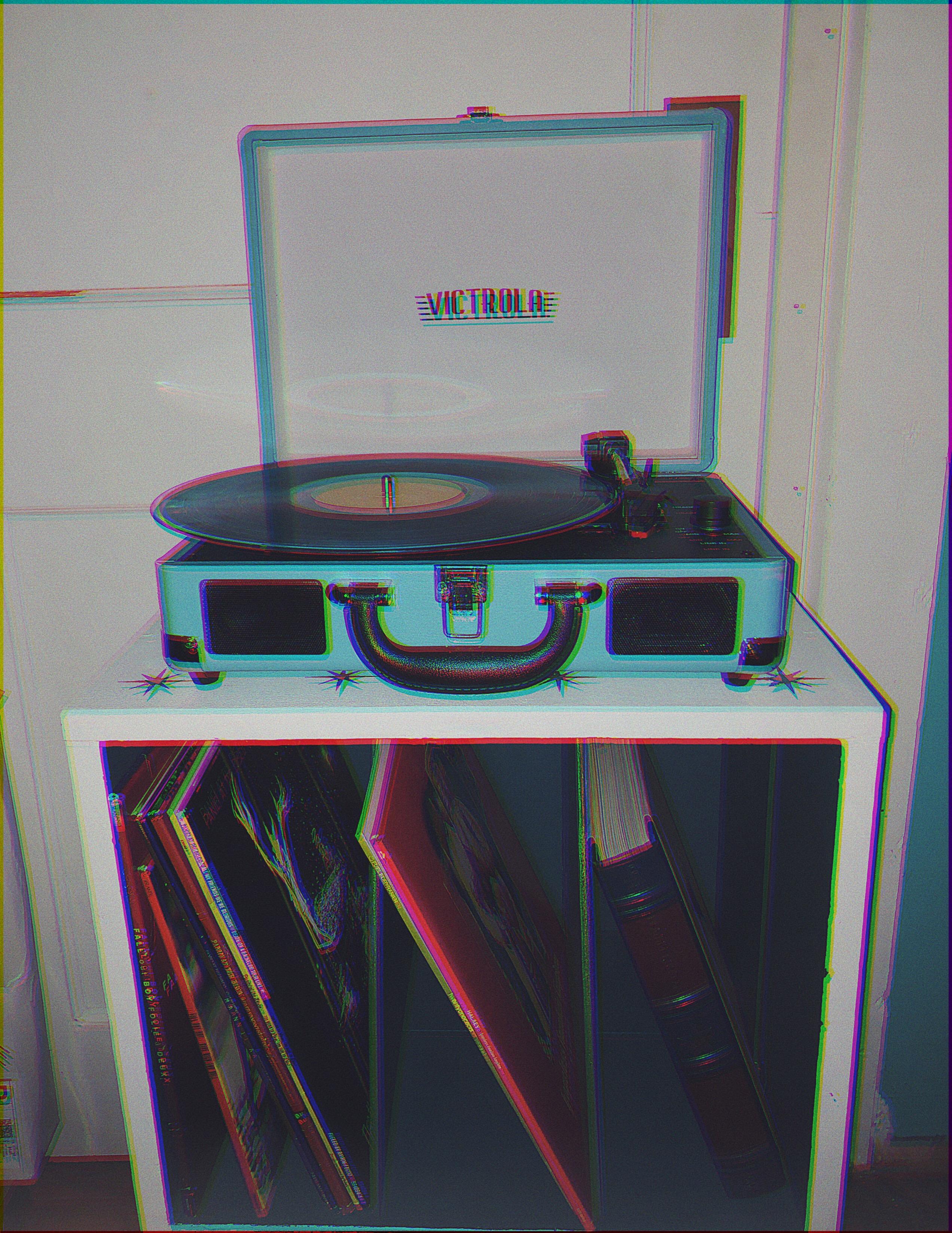 Yeet Aesthetic Glitch Vinyl Records Recordplayer Aesthe