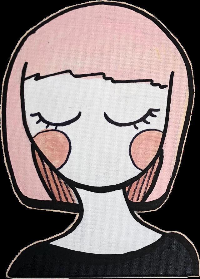 #girl #pink #babypink #dreamy #freetoedit