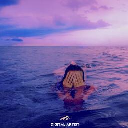 imagination_infocus beauty pinkocean swimming ocean