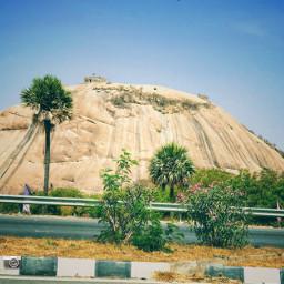 warangal hyderabad road bhongirfort iphoneshot