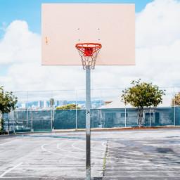 freetoedit urban basketball colorful sky