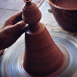 interesting photography drama hand clay