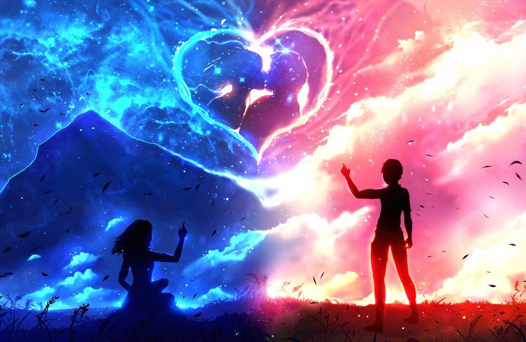 💞 anime animecouple animelove love romati