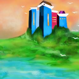 dcdreamhouse dreamhouse freetoedit drawing picsart