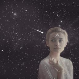 freetoedit thirdeye cosmos girl beautiful