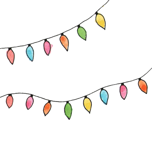 Christmas Lights Overlay Png.Christmas Lights Colorful Flashers Stranger Things Stra