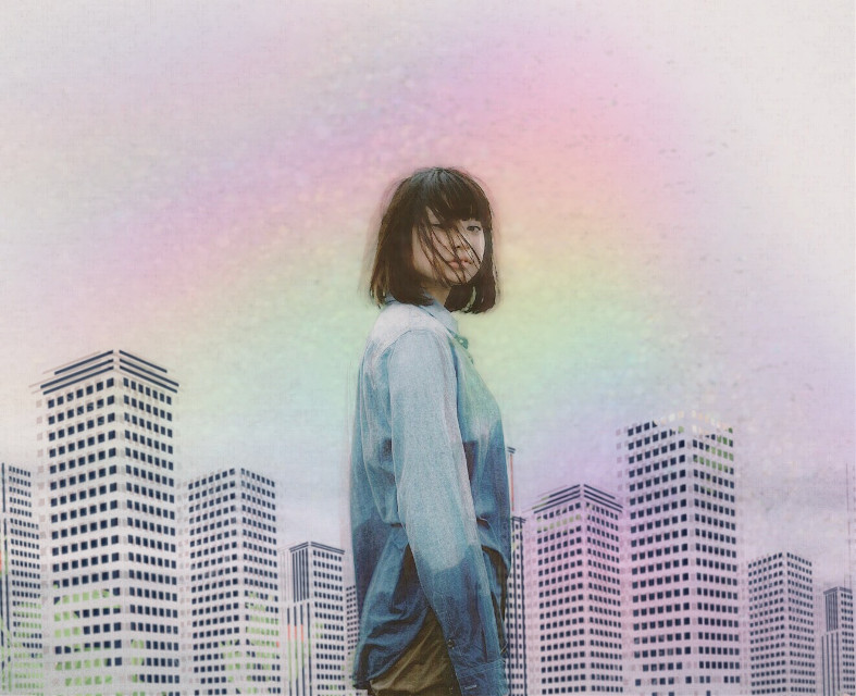 #freetoedit #picsart #remix #rainbow