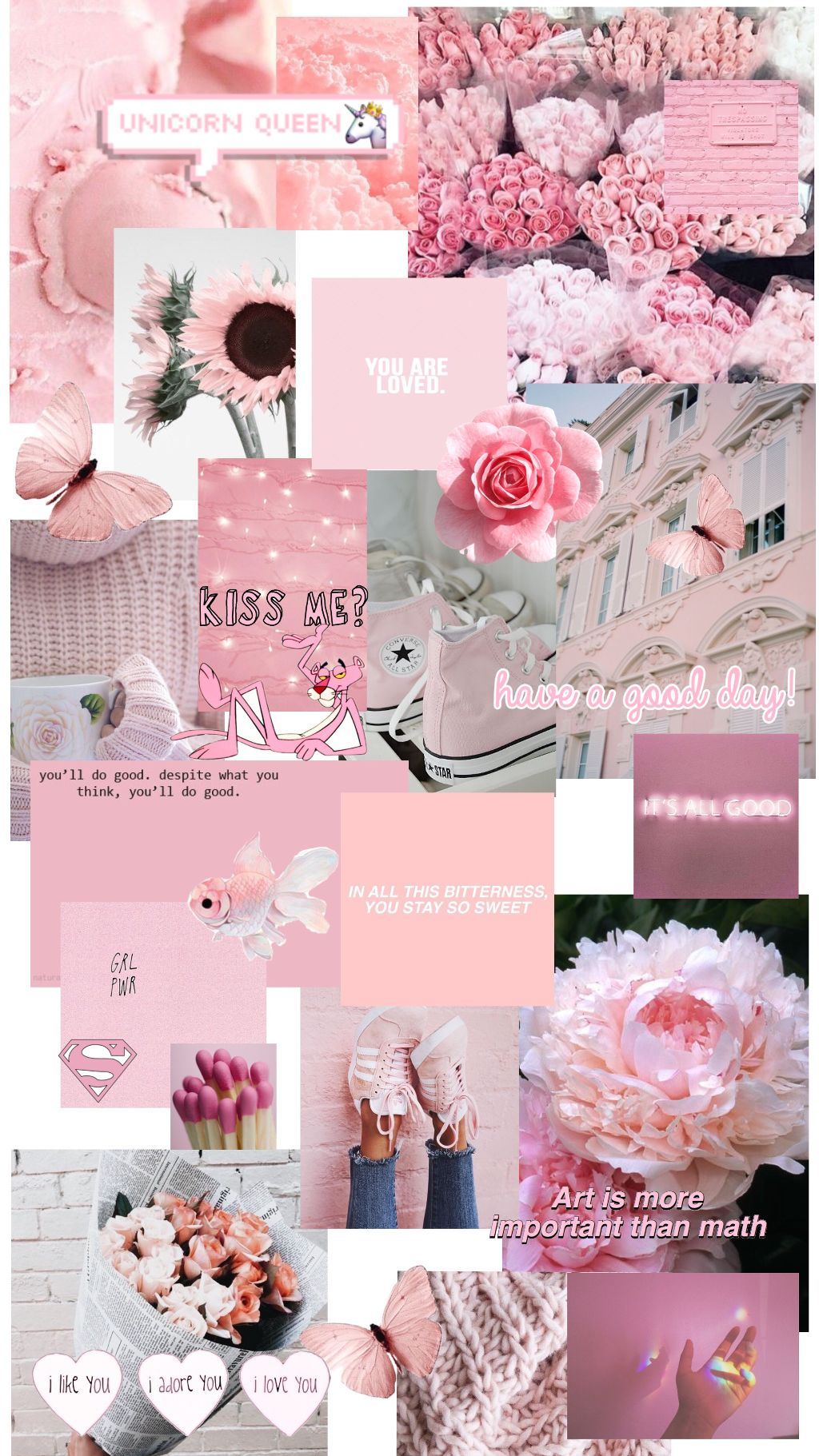 Wallpaper Pink Aesthetic Pinkaesthtic