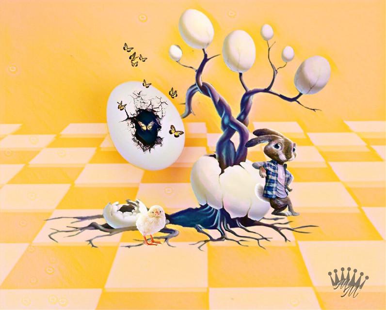 #freetoedit #surreal #minimalism #eggs #madewithpicsart #editstepbystep #myedit #art #interesting