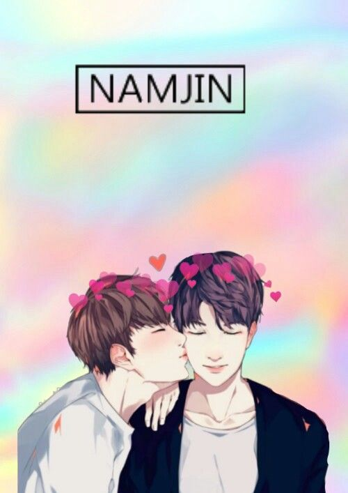 Namjin Jin Kimseokjin Rm Kinnamjoon Bts Sticks Creds
