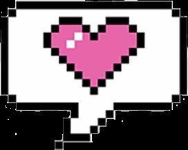 ftestickers lovecallout pixelart freetoedit