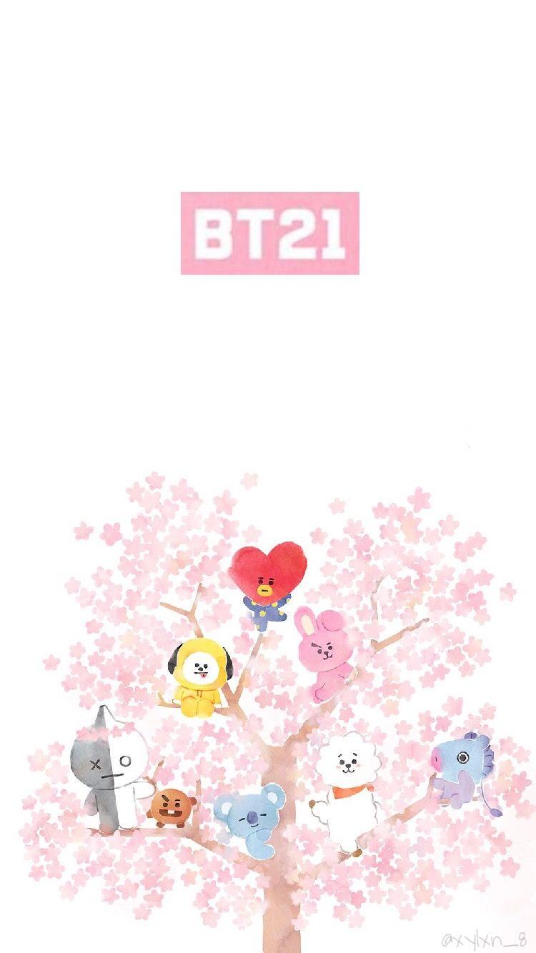Wallpaper Of Bt21 ️ Bts Btsedit Btsarmy Bt21 Bt21wallp