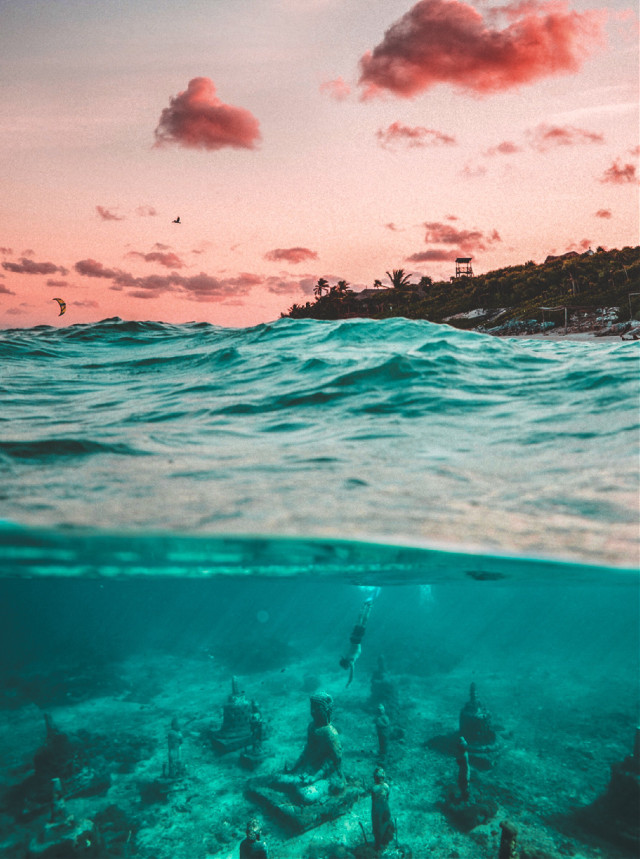 #madewithpicsart #edited #underwater #magical #sky #lightroom