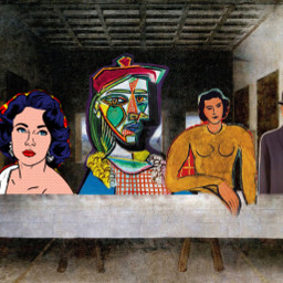 freetoedit lastsupper thelastsupper easter basquiat