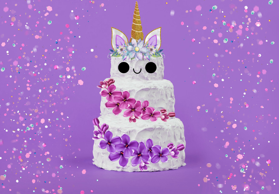 Thanks for all the votes and positive thoughts towards this edit, it means a lot to me ☺️ #freetoedit #unicorn #irceastercake #eastercake