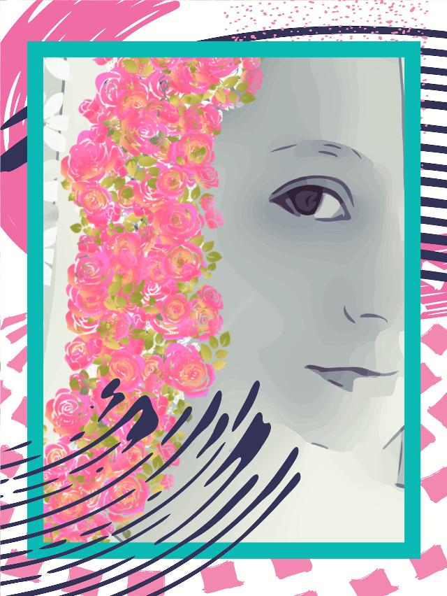 #freetoedit #flowergirl