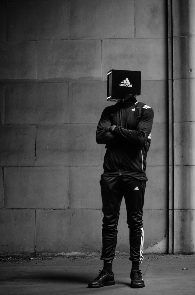 adidas man shot by @dizzycrane from Instagram. #rockmadethat #starboy #freetoedit #remixme #adidas #alien #robot #robotic #different #mysterious #faceless #futuristic