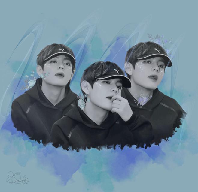 #bts #taehyung #kpop #army #btsarmy #bangyansonyeondan #bangtanboys #blue #v 🤷🏼♀️