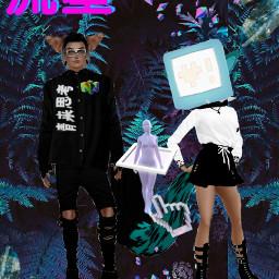 imvu aesthetics vaporwave ocs freetoedit