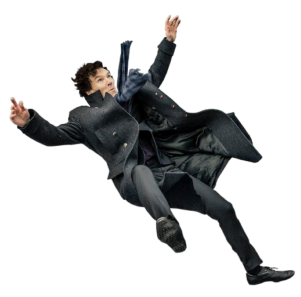 Man Falling Freetoedit