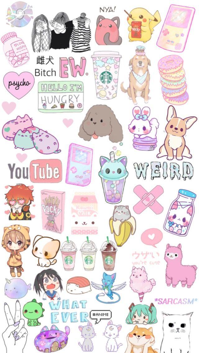 Kawaii Tumblr Cute Pastel Anime Background Screenlock