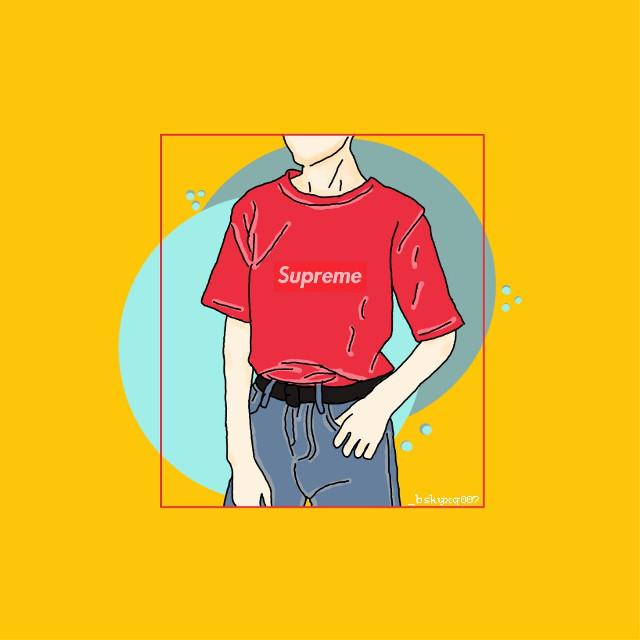#drawing  #red  #freetoedit #yellow