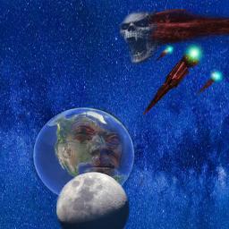 freetoedit my myart planets missile