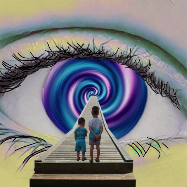 #freetoedit #spiral #walkaway #purple