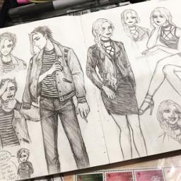 sketch illustration oc myart sammitoons