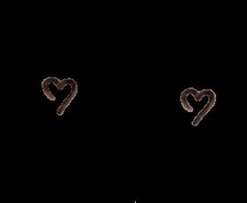 hearts black edit cute cheeks freetoedit