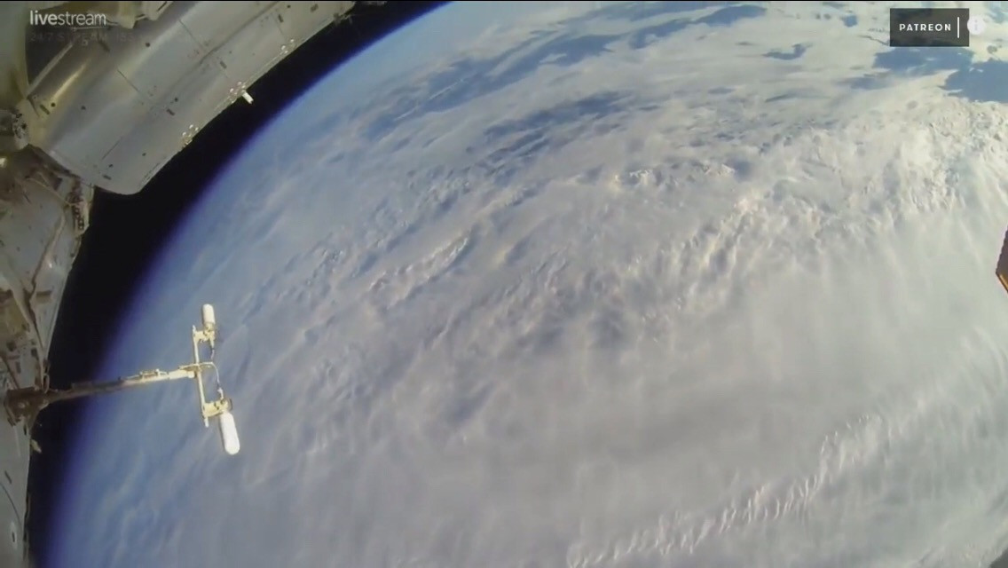 #freetoedit #NASA Live - Earth From Space (HDVR) ♥ ISS LIVE FEED #AstronomyDay2018 | Subscribe now!