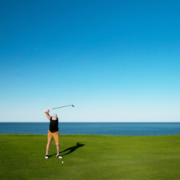 freetoedit boy golf sport landscape