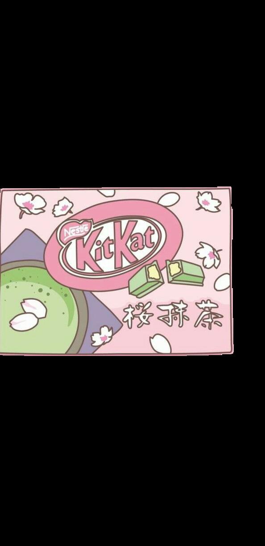 #japanese #snack #kitkat #pink #aesthetic