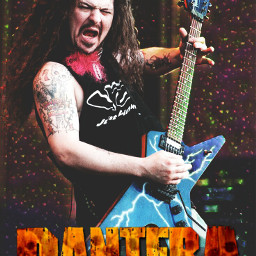pantera freetoedit guitar metalhead heavymetal