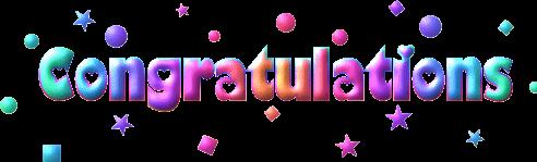 popular and trending congradulations stickers on picsart