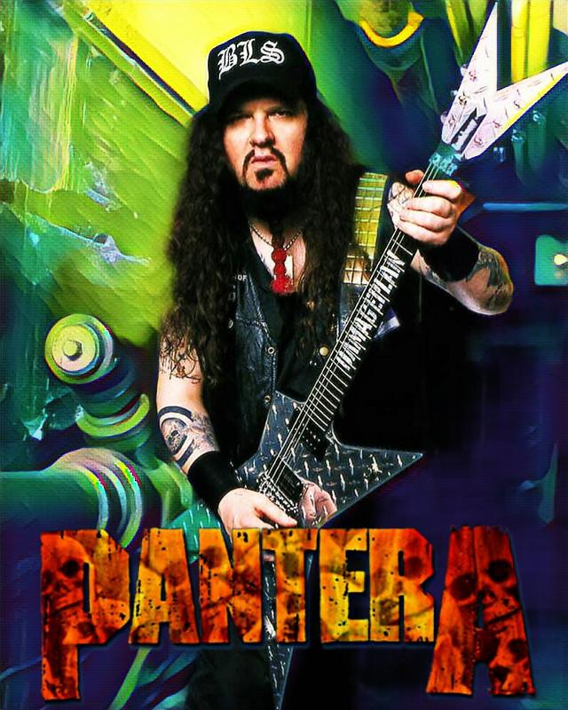 #pantera #metal #metalhead #heavymetal #band #metalband #panteraband #guitar #dimebagdarrell