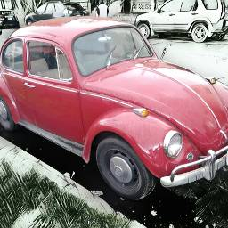 volkswagen bug slugbug hippylife portlandoregon