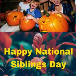 freetoedit nationalsiblingsday leafy