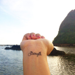 tattoo beach happy life thankful freetoedit
