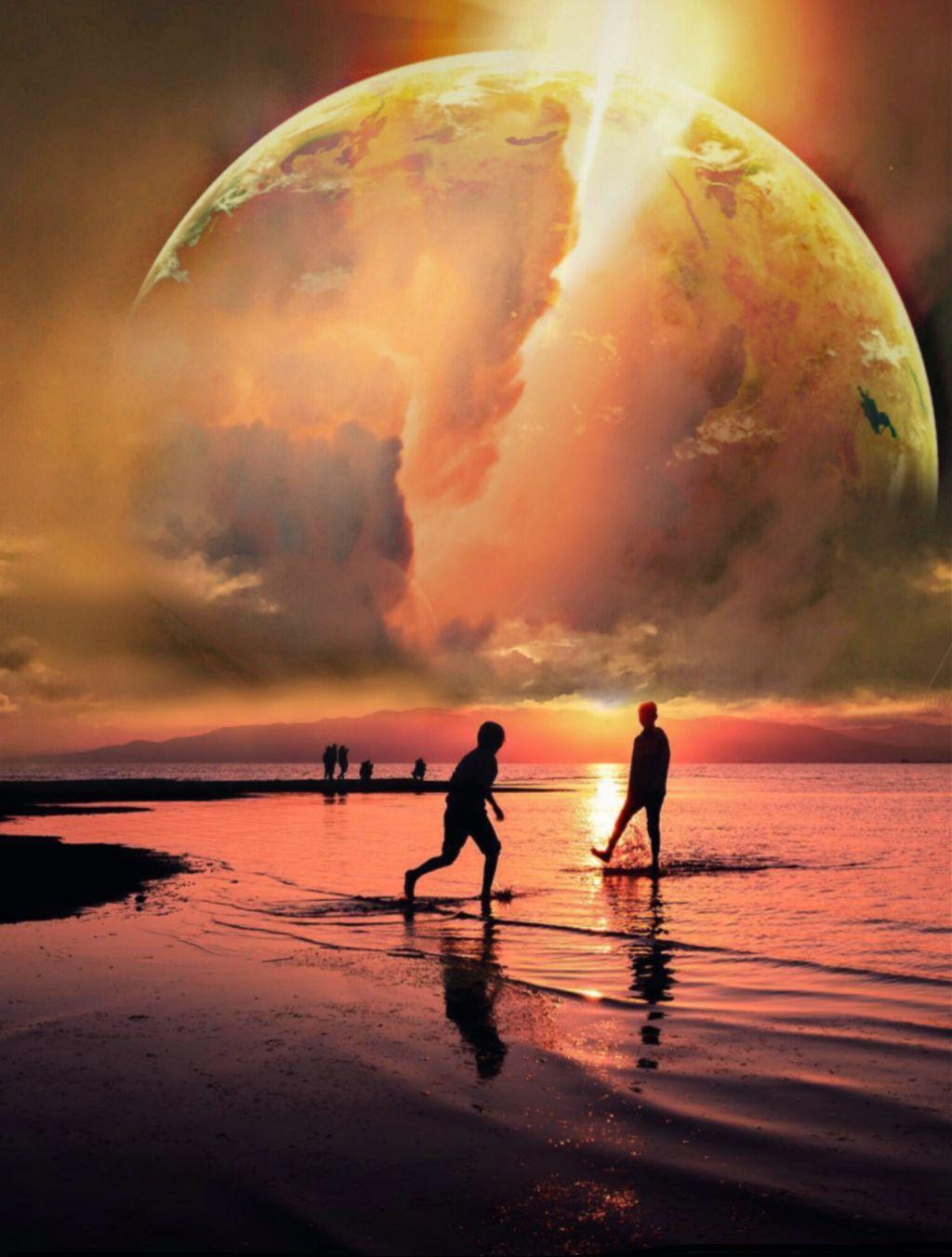 #freetoedit #myedit #edit #surreal #landscape #sunset #edited