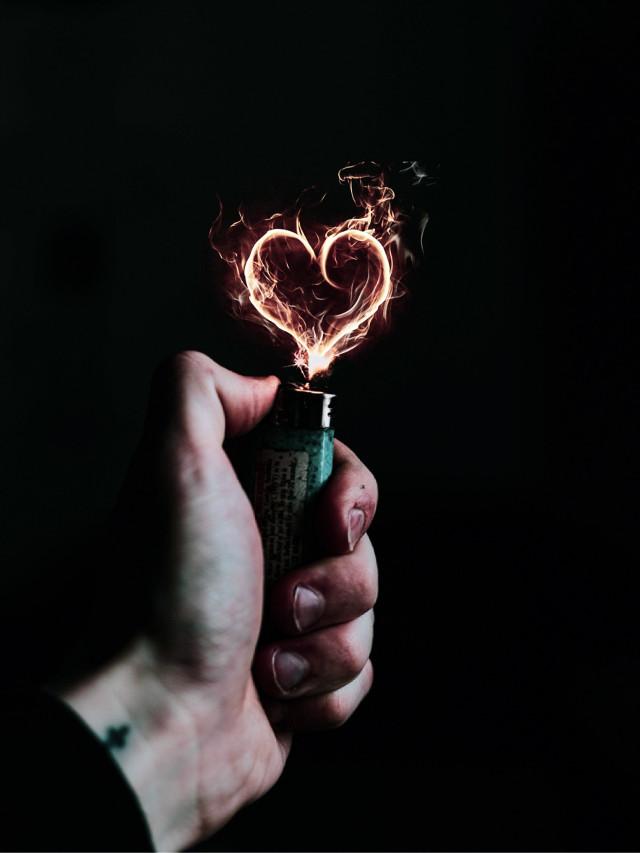 #freetoedit #madewithpicsart #edited #lightroom #fire #heart