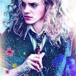 harrypotter hermionegranger art freetoedit