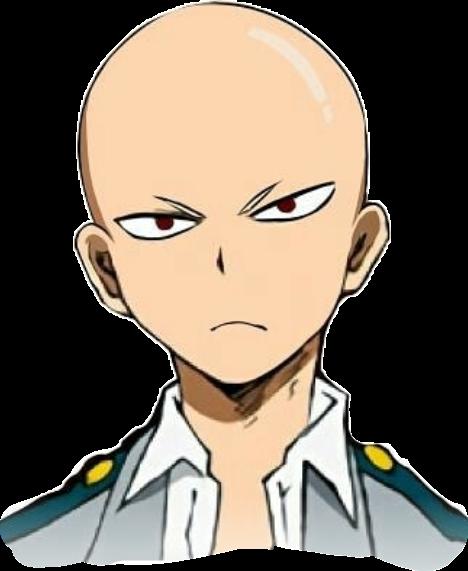 bnha mha bakugou katsuki bald guy anime boy school
