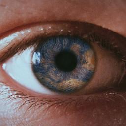 eye vangogh starrynight collage modernart