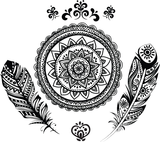 Mandala Tattos Plumas Tatuajes Tumblr