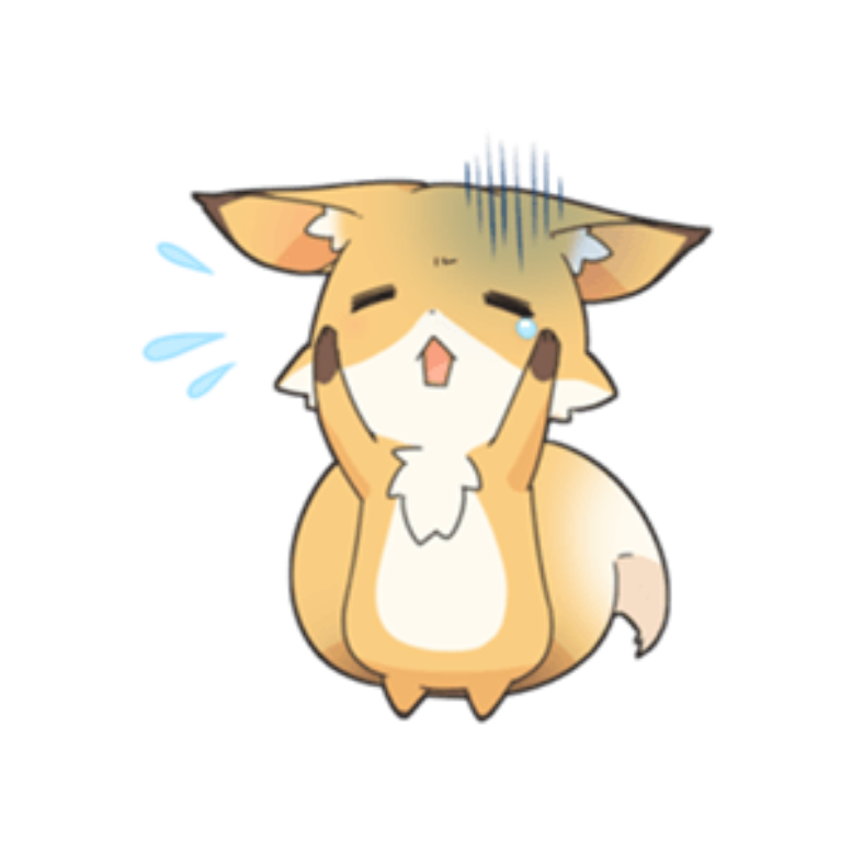 Fox Kawaii Cute Png Edit Overlay