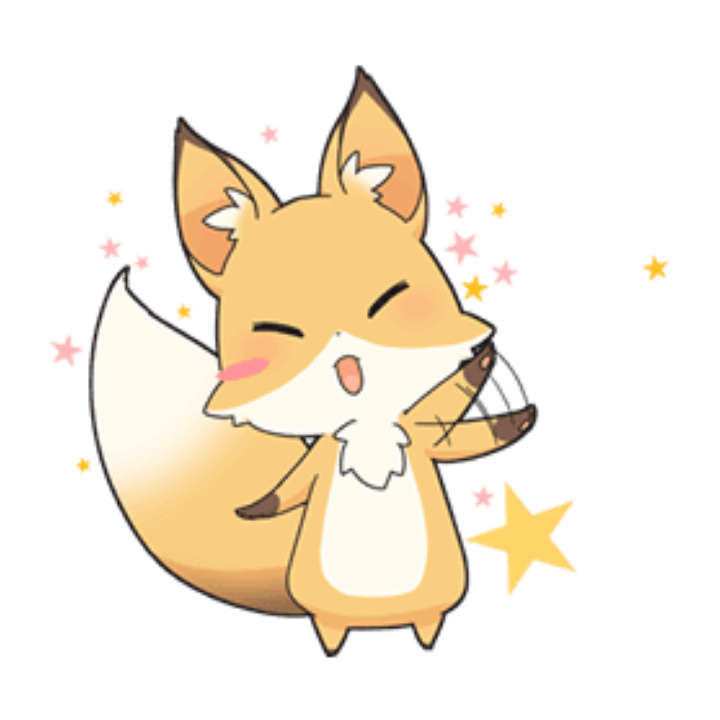 Fox Kawaii Cute Png Overlay Edit