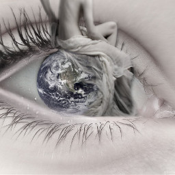 freetoedit motherearth eye earth myedit